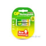 GP Rechargeable 1000(950 mAh) AAA 2 шт