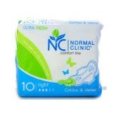 Normal Clinic Ultra Fresh Cotton and Velvet Light 10 шт