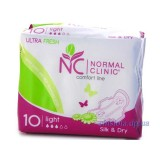 Normal Clinic Ultra Fresh Silk and Dry Light 10 шт