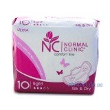 Normal Clinic Ultra Silk and Dry Light 10 шт