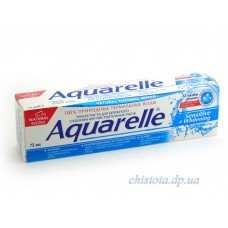 Aquarelle зубная паста Sensitive+Whitening 75 ml